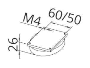 Magneet basis NIK JM 01 00.11.014.5