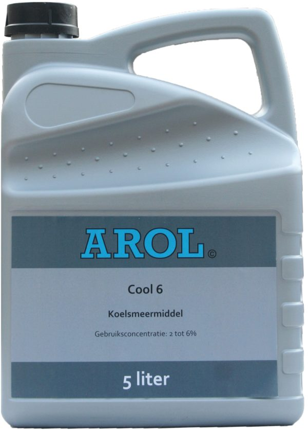 Arol koelsmeermiddel Cool 6 can 5L.
