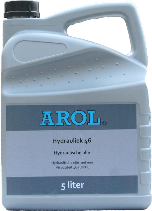 Arol hydrauliek olie 46 can 5L.